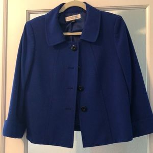Tahiri royal blue blazer